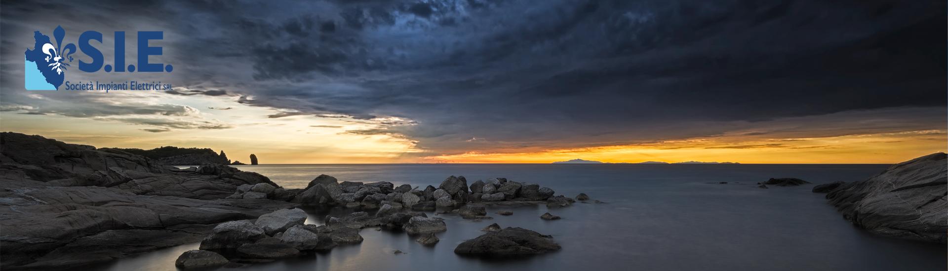Isola del Giglio, tramonto