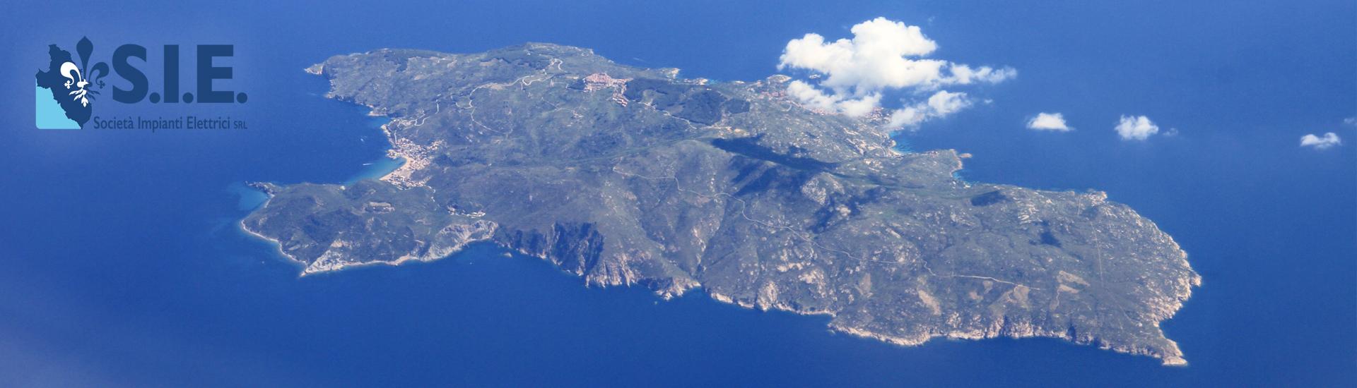 Isola del Giglio, aerea